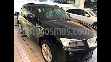 Foto BMW X3 xDrive28iA M Sport  usado (2013) color Negro Zafiro precio $299,000
