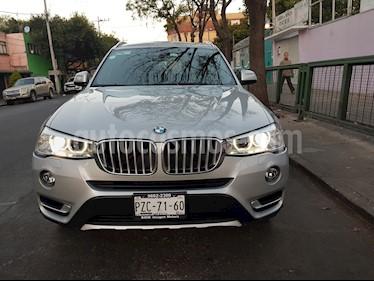 BMW X3 xDrive28iA X Line usado (2017) color Plata precio $539,000