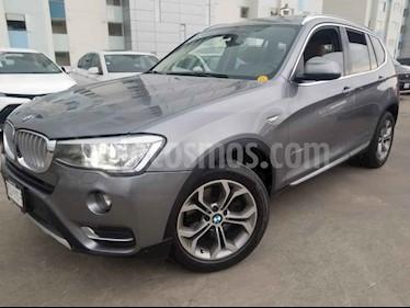 Foto venta Auto usado BMW X3 xDrive28iA X Line (2015) color Gris precio $350,000