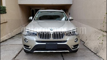 Foto venta Auto usado BMW X3 xDrive28iA X Line (2015) color Gris Space precio $400,000