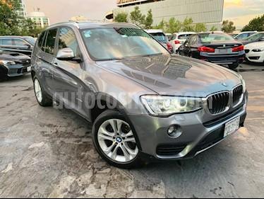 Foto venta Auto Seminuevo BMW X3 xDrive28iA X Line (2017) color Gris precio $499,000