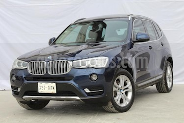 Foto venta Auto usado BMW X3 xDrive28iA X Line (2015) color Azul precio $399,000