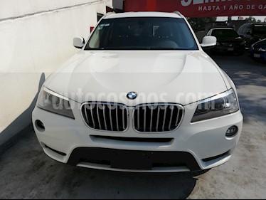 Foto venta Auto usado BMW X3 xDrive28iA (2013) color Blanco Alpine precio $293,000