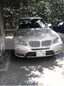 Foto BMW X3 xDrive28iA usado (2014) color Plata Titanium precio $250,000