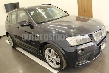 Foto venta Auto usado BMW X3 xDrive35iA M Sport (2014) color Azul precio $444,000