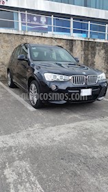 BMW X3 xDrive35iA M Sport usado (2017) color Negro precio $569,000