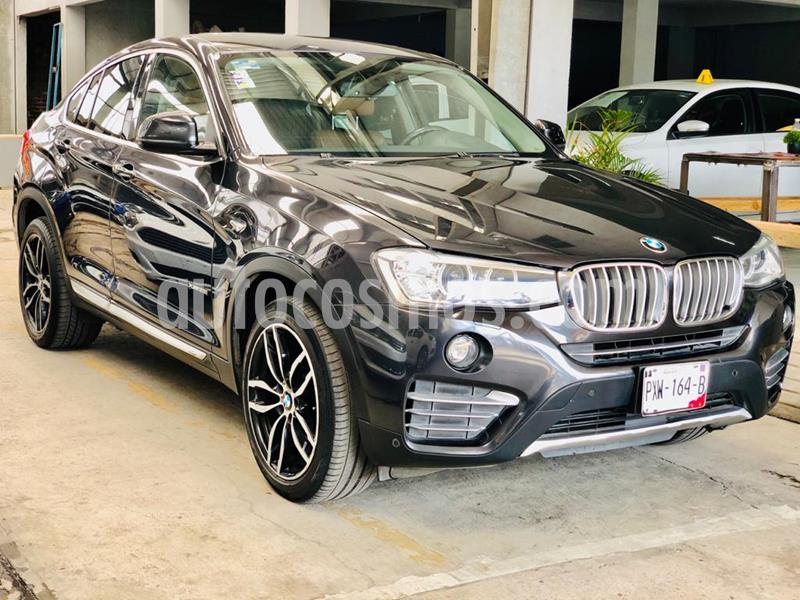 Foto BMW X4 xDrive28i X Line Aut usado (2015) color Gris Mineral precio $385,000