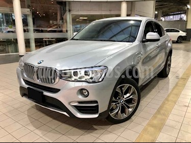 Foto BMW X4 xDrive28i X Line Aut usado (2017) color Plata precio $510,000