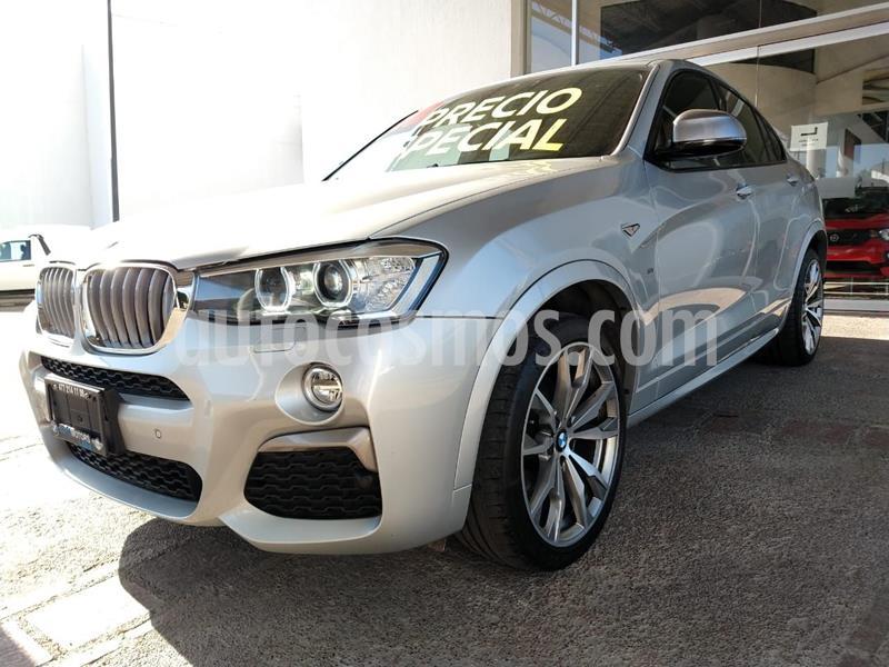 BMW X4 X4 M40iA Aut usado (2018) color Plata Dorado precio $729,000