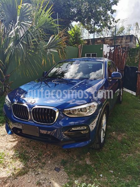 BMW X4 xDrive30iA Execuitve Aut usado (2019) color Azul precio $690,000