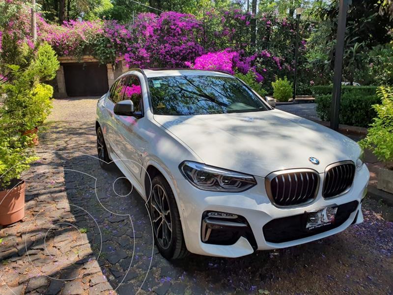 BMW X4 M40i Aut usado (2019) color Blanco precio $899,900