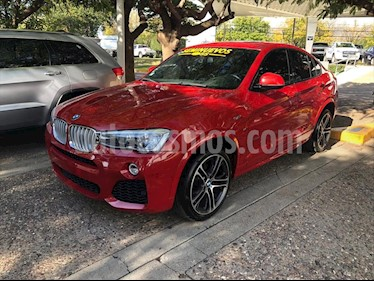 BMW X4 xDrive35i M Sport Aut usado (2018) color Rojo precio $650,000