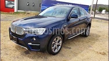 Foto venta Auto usado BMW X4 xDrive28i X Line Aut (2018) color Azul precio $599,000