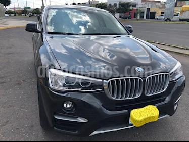 BMW X4 xDrive28i X Line Aut usado (2017) color Plata Titanium precio $525,000