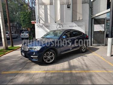 Foto venta Auto usado BMW X4 xDrive28i X Line Aut (2017) color Azul precio $535,000