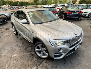 Foto venta Auto Seminuevo BMW X4 xDrive28i X Line Aut (2016) color Plata precio $489,000