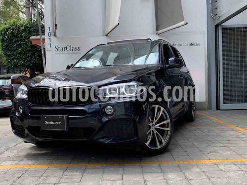 BMW X5 xDrive50iA M Sport usado (2017) color Azul precio $735,000