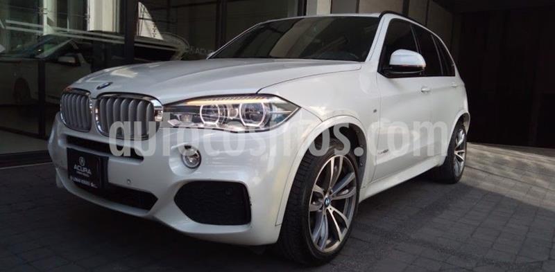 BMW X5 xDrive 50ia Premium  usado (2016) color Blanco precio $619,000