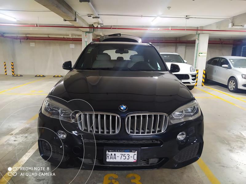 BMW X5 xDrive50iA M Sport usado (2016) color Azul precio $580,000