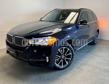 BMW X5 5p xDrive 35i Excellence L6/3.0/T Aut usado (2016) color Azul precio $495,000