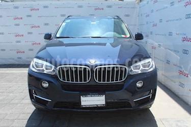 BMW X5 5p xDrive 50i Excellence V8/4.4/T Aut usado (2018) color Azul precio $720,000
