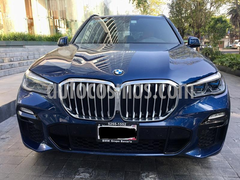 BMW X5 xDrive40iA M Sport usado (2020) color Azul precio $1,150,000