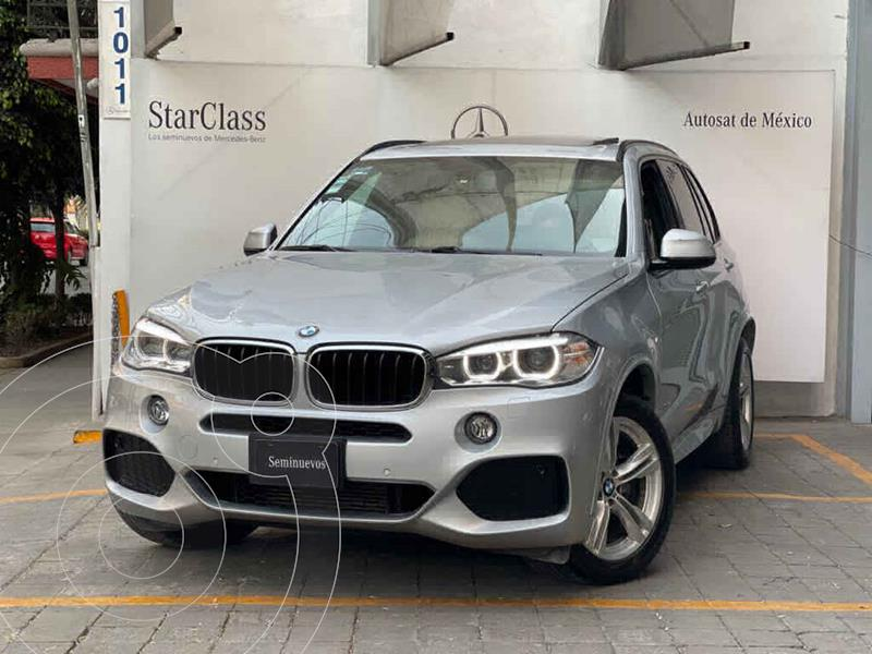 Foto BMW X5 xDrive35iA M Sport usado (2017) color Plata precio $635,000