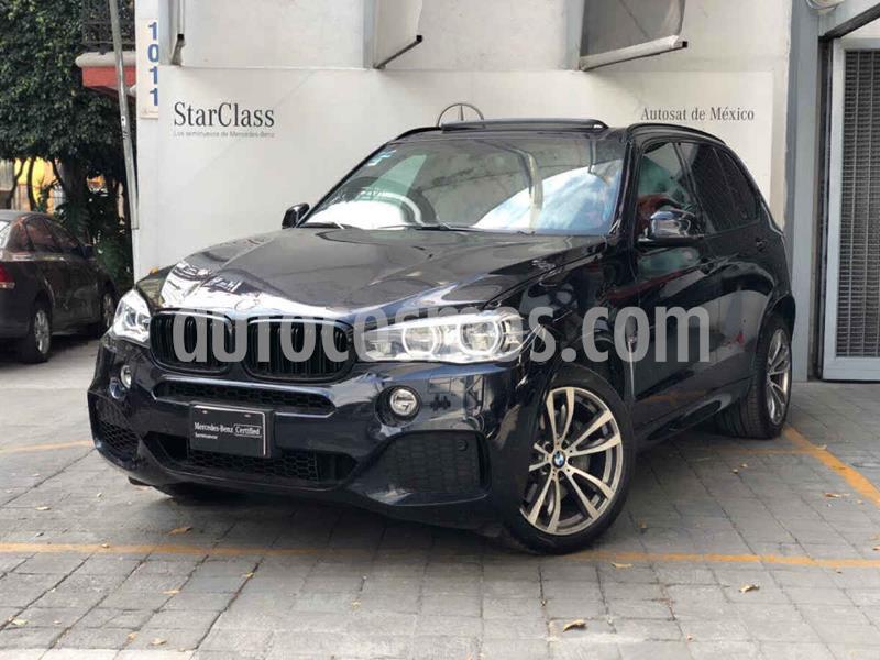 BMW X5 xDrive50iA M Sport usado (2017) color Azul precio $695,000