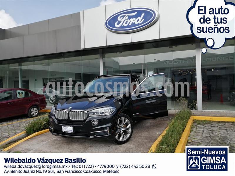 BMW X5 xDrive50iA Excellence usado (2017) color Negro precio $630,000