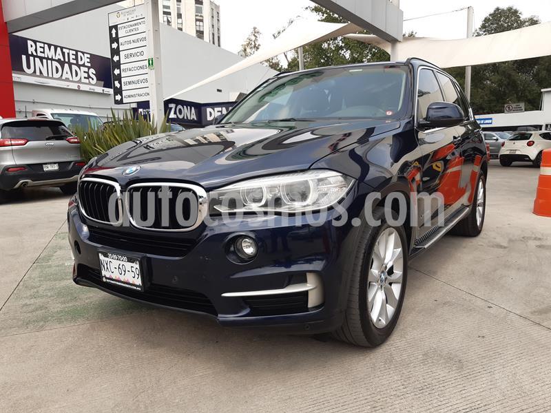 BMW X5 3.0si M Sport 7 Asientos usado (2014) color Azul precio $382,000