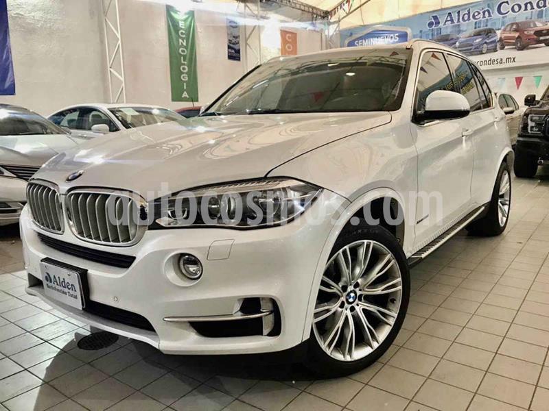 BMW X5 xDrive50iA Excellence usado (2018) color Blanco precio $798,000