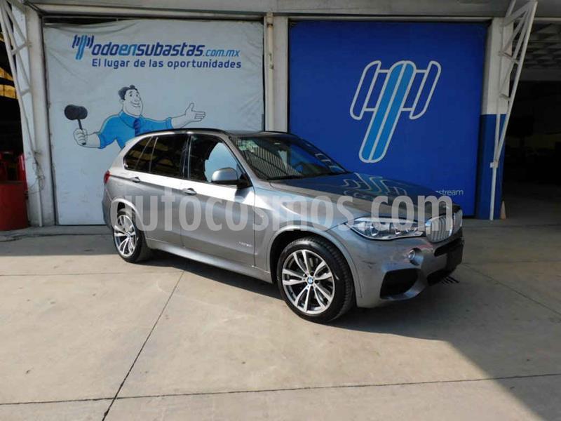 BMW X5 xDrive50iA M Sport usado (2017) color Gris precio $610,000