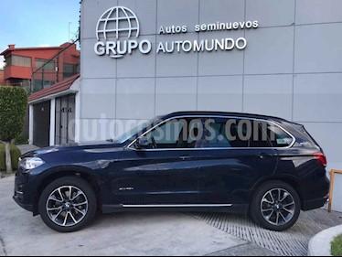 Foto venta Auto usado BMW X5 xDrive 40e Excellence (Hibrido) (2017) color Azul precio $715,000
