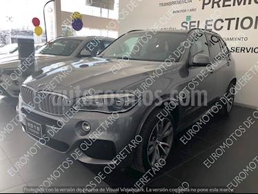 Foto venta Auto usado BMW X5 xDrive50iA M Sport (2016) color Gris Space precio $745,000