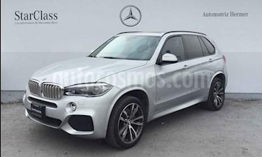 Foto venta Auto usado BMW X5 xDrive50iA M Sport (2017) color Plata precio $849,900