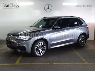 Foto venta Auto usado BMW X5 xDrive50iA M Sport (2016) color Gris precio $799,000
