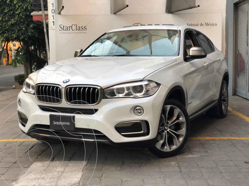 BMW X6 xDrive 35iA Extravagance usado (2019) color Blanco precio $850,000