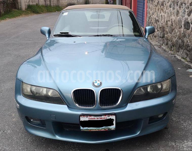 BMW Z3 Convertible, Man. 5 Vel.,2.8 L,Toldo Elec. usado (1998) color Azul Metalizado precio $159,999