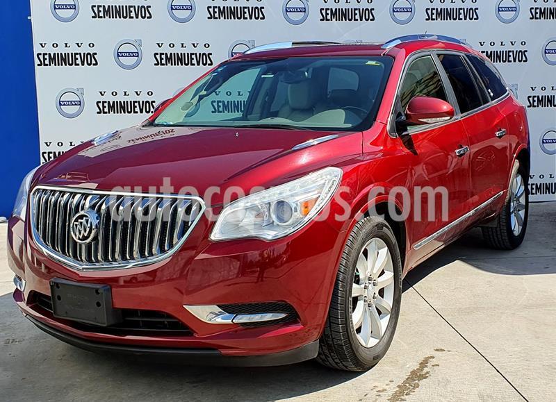 Buick Enclave 3.6L  usado (2015) color Rojo precio $355,000