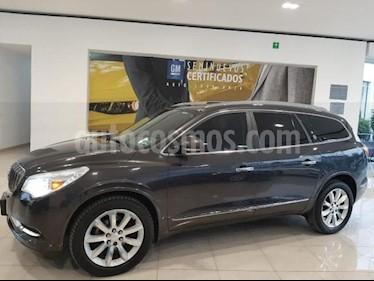 Buick Enclave 5P PREMIUM 3.6L TA PIEL QC DVD 7 PAS. RA-20 usado (2015) color Gris precio $410,900