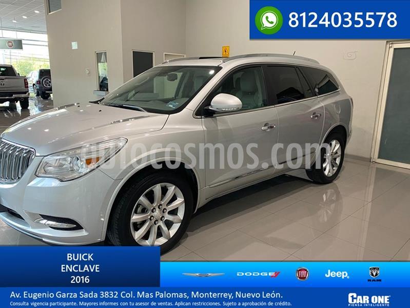 Buick Enclave 3.6L  usado (2016) color Plata precio $435,000