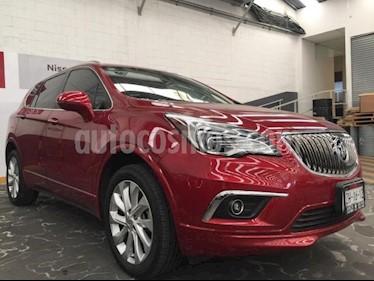 Foto Buick Envision 5p Premium CXL L4/2.0/T Aut AWD usado (2016) color Rojo precio $395,000