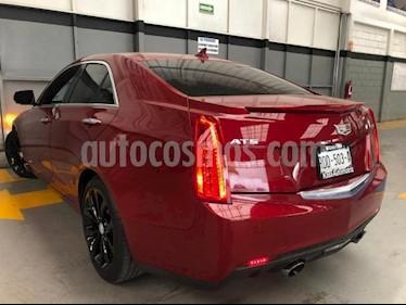 Cadillac ATS 4P PREMIUM SPORT TA 2.0T 272 HP GPS RA-18 usado (2017) color Rojo precio $450,000