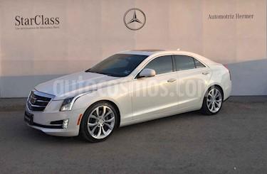 Cadillac ATS 4p Premium L4/2.0/T Aut usado (2015) color Blanco precio $349,900
