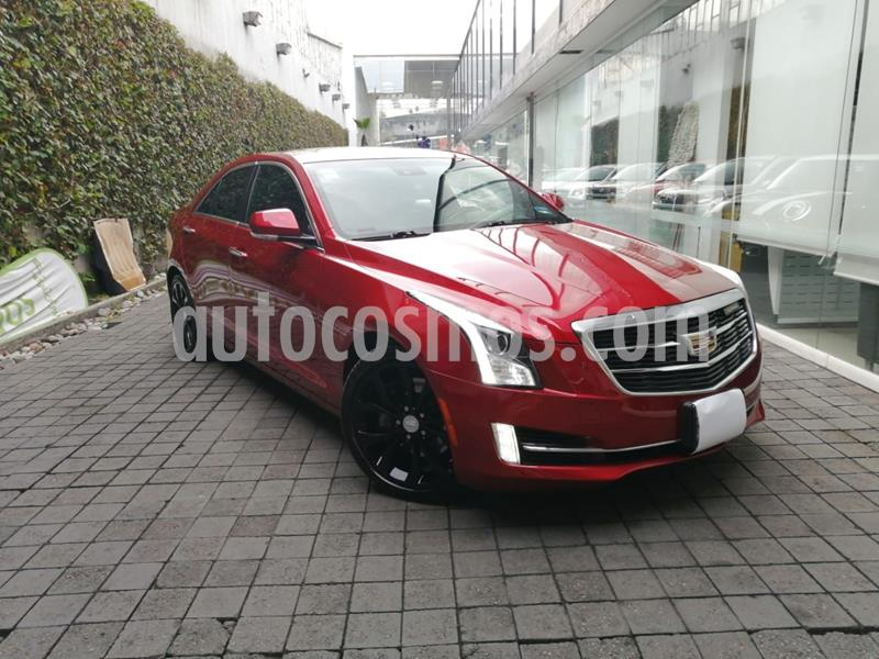 Cadillac ATS Premium Sport usado (2017) color Rojo precio $450,000