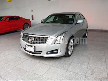 Foto venta Auto usado Cadillac ATS Paq. C (2013) color Plata precio $315,000