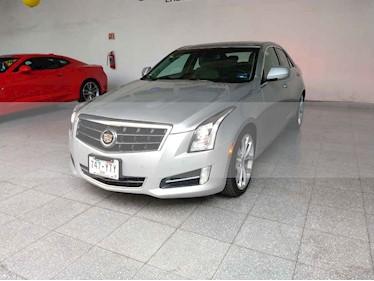 Foto venta Auto usado Cadillac ATS Paq. C (2013) color Plata precio $280,000