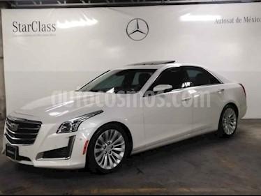 Cadillac CTS 4p Premium Sedan V6/3.6 Aut usado (2015) color Blanco precio $409,000