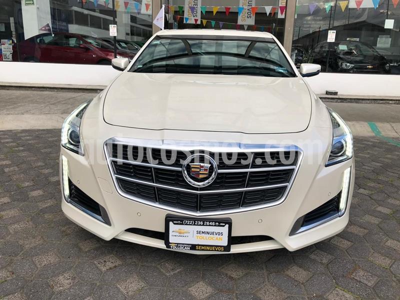 Cadillac CTS Premium usado (2014) color Blanco precio $360,000
