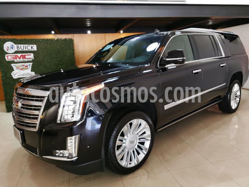Cadillac Escalade ESV Platinum usado (2017) color Negro precio $990,000